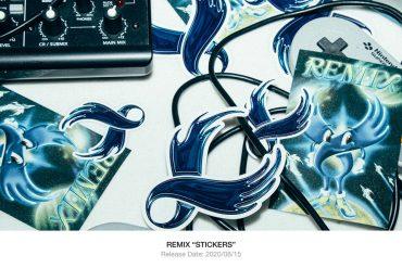 REMIX 20 SS Stickers (1)