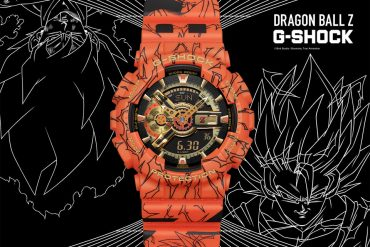 CASIO G-SHOCK x DRAGON BALL Z GA-110JDB-1A4DR (1)