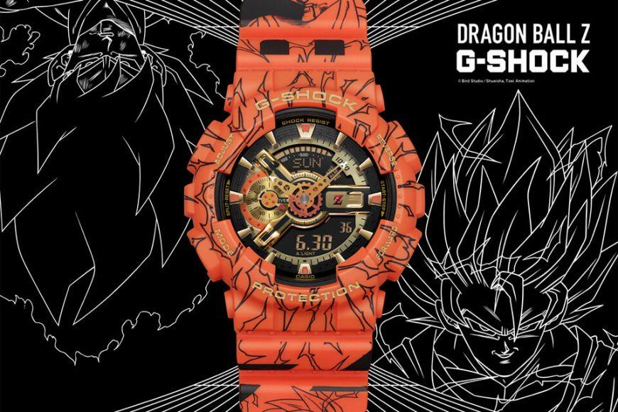 CASIO G-SHOCK x DRAGON BALL Z GA-110JDB-1A4DR (1)