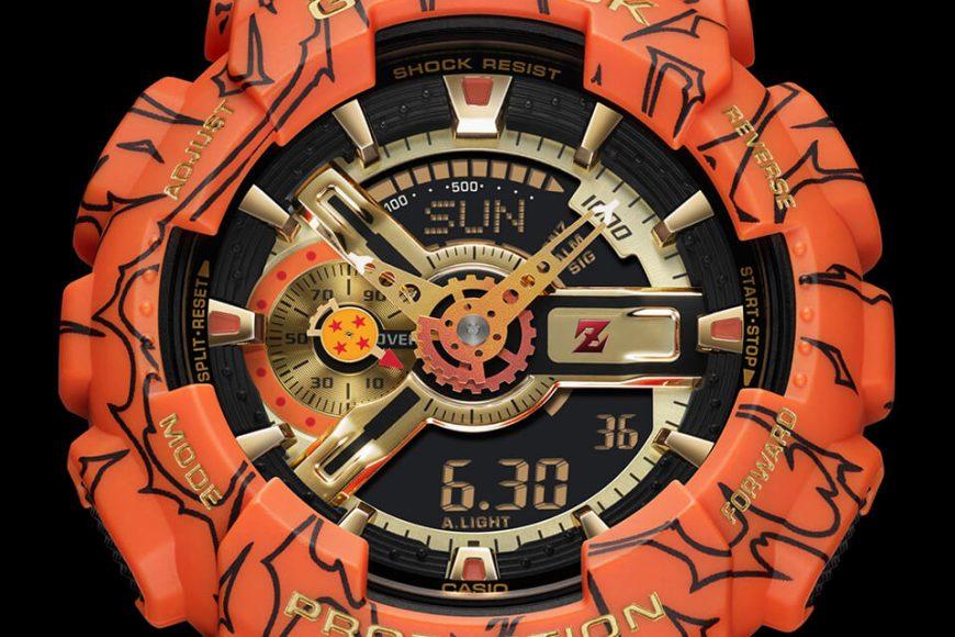 CASIO G-SHOCK x DRAGON BALL Z GA-110JDB-1A4DR (3)