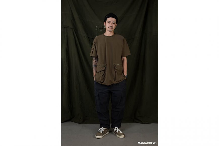 MANIA 20 SS Washed Cargo Pants (1)