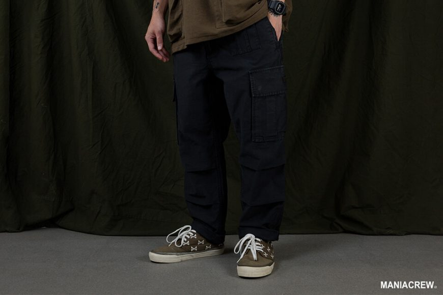 MANIA 20 SS Washed Cargo Pants (2)