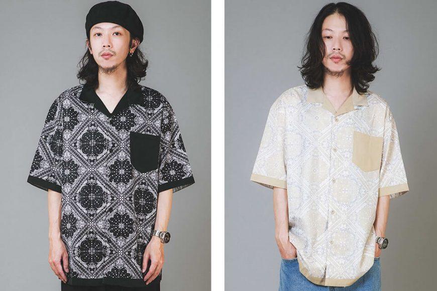 NextMobRiot 20 SS Splicing Bandana OVS Shirt (0)
