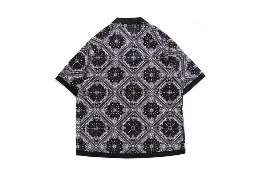NextMobRiot 20 SS Splicing Bandana OVS Shirt (10)