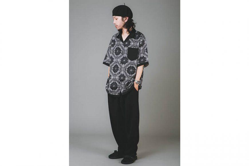 NextMobRiot 20 SS Splicing Bandana OVS Shirt (2)