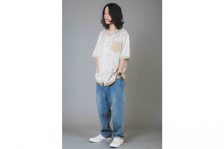NextMobRiot 20 SS Splicing Bandana OVS Shirt (6)
