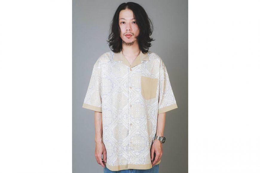 NextMobRiot 20 SS Splicing Bandana OVS Shirt (7)