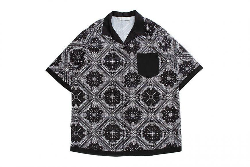 NextMobRiot 20 SS Splicing Bandana OVS Shirt (9)