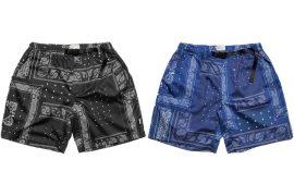 OVKLAB 20 SS Paisley Echo Shorts (0)