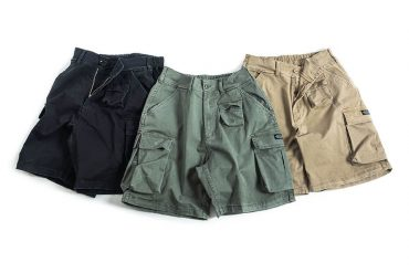 PERSEVERE 20 SS Enzyme Stone Washed Cargo Shorts (13)