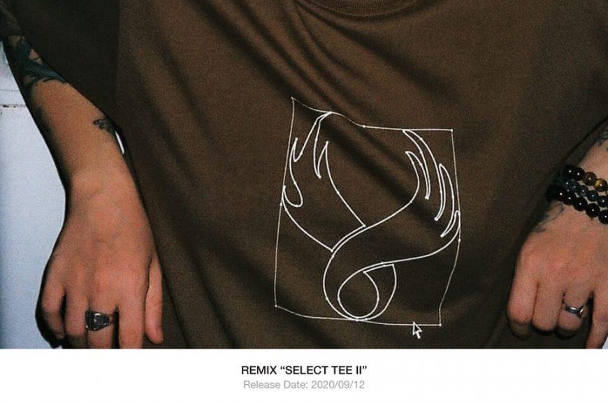 REMIX 20 SS Select Tee II (1)