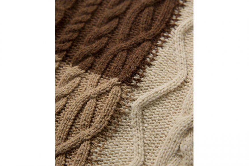COVERNAT 20 FW Aran Knit Crewneck (5)