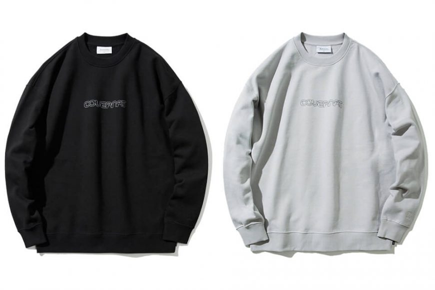 COVERNAT 20 FW Galaxy Logo Crewneck (0)
