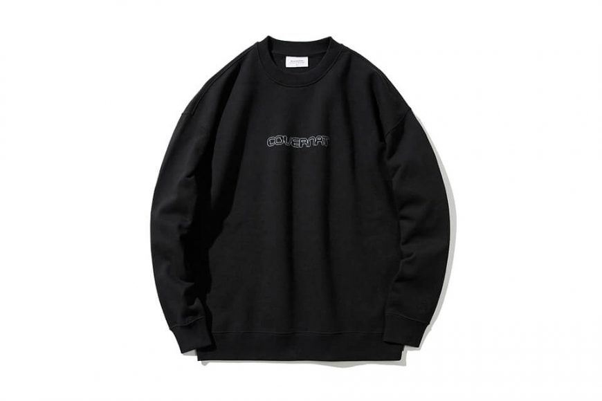 COVERNAT 20 FW Galaxy Logo Crewneck (1)