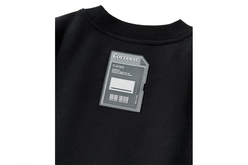 COVERNAT 20 FW Galaxy Logo Crewneck (6)