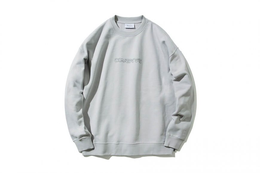 COVERNAT 20 FW Galaxy Logo Crewneck (7)