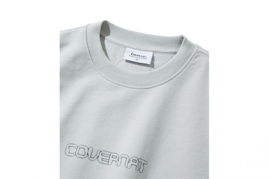 COVERNAT 20 FW Galaxy Logo Crewneck (9)