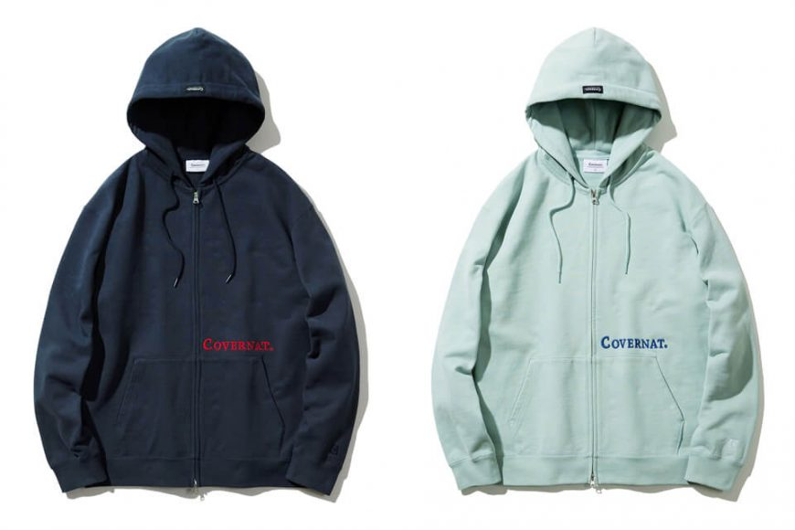 COVERNAT 20 FW Side Authentic Logo Hoodie Zip-Up (0)
