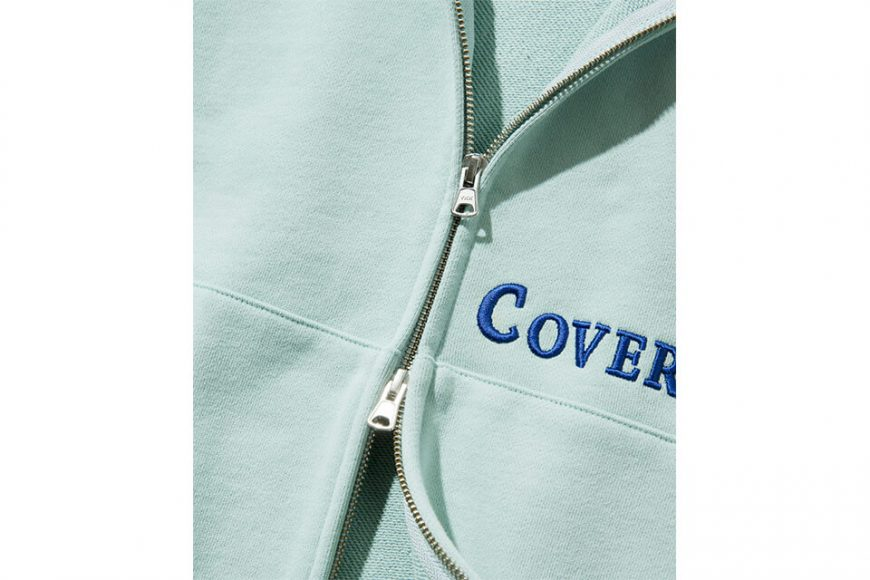 COVERNAT 20 FW Side Authentic Logo Hoodie Zip-Up (12)