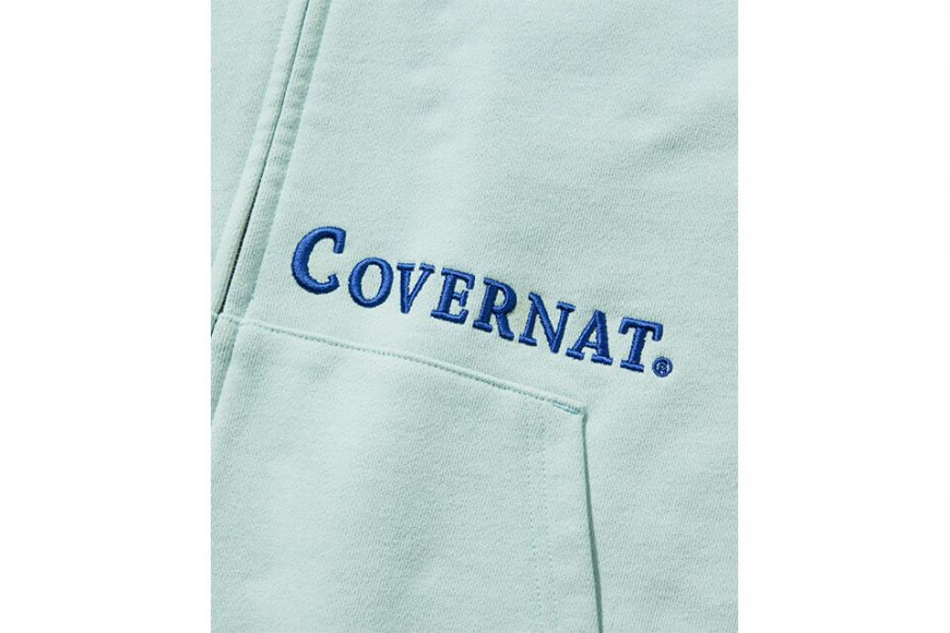 COVERNAT 20 FW Side Authentic Logo Hoodie Zip-Up (13)