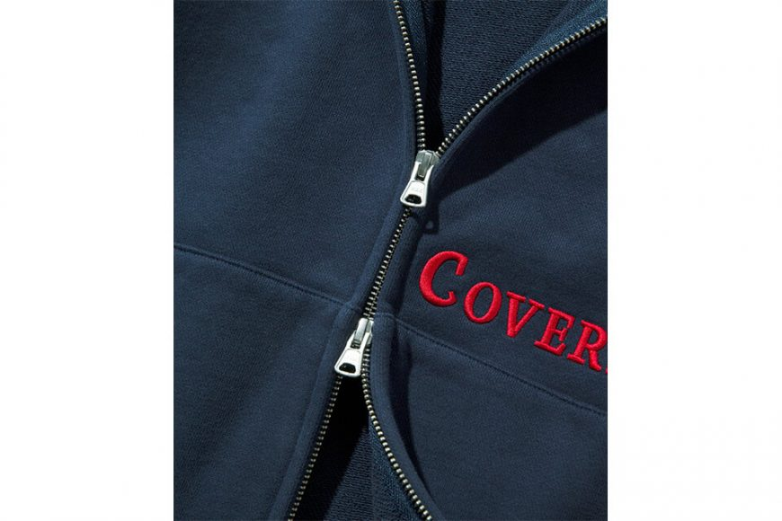 COVERNAT 20 FW Side Authentic Logo Hoodie Zip-Up (5)