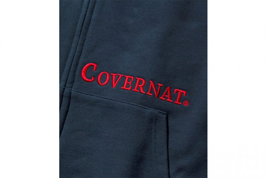 COVERNAT 20 FW Side Authentic Logo Hoodie Zip-Up (6)