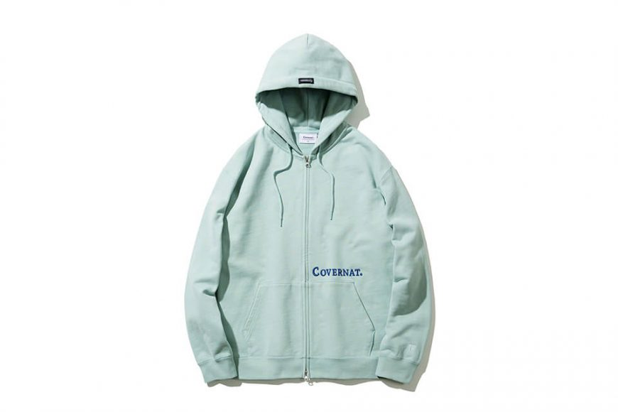 COVERNAT 20 FW Side Authentic Logo Hoodie Zip-Up (8)