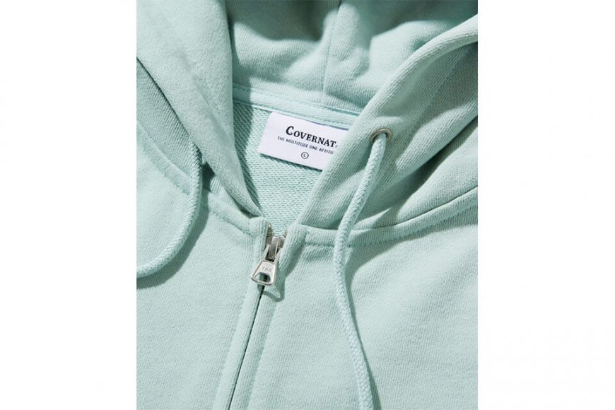 COVERNAT 20 FW Side Authentic Logo Hoodie Zip-Up (9)
