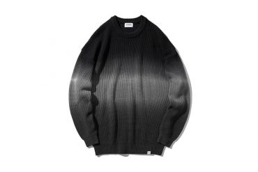 COVERNAT 20 FW Tie-Dyeing Knit Crewneck (1)