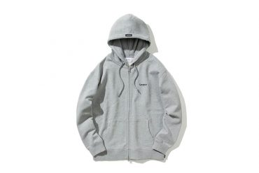 Covernat 20 FW SMALL AUTHENTIC LOGO HOODIE ZIP-UP (1)