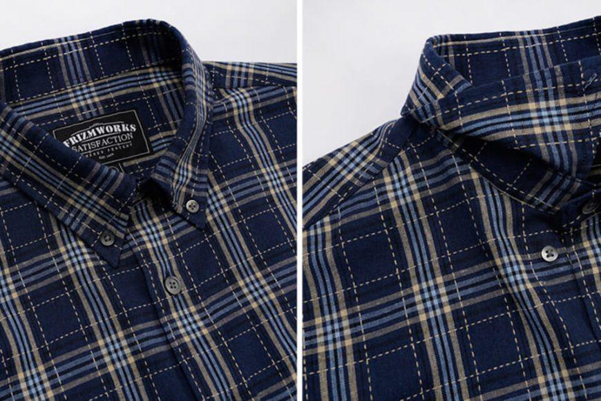 FrizmWORKS 20 FW Needles Check Shirt (12)