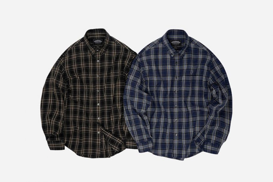 FrizmWORKS 20 FW Needles Check Shirt (5)