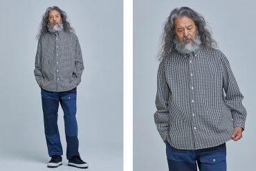 FrizmWORKS 20 FW Oversized Gingham Check Shirt (1)