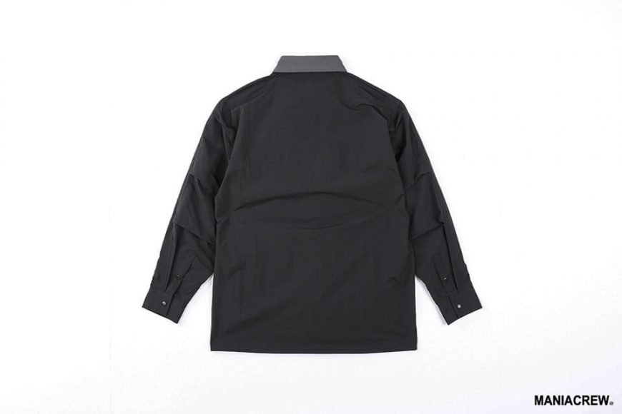 MANIA 20 AW 2 Tone Pocket Shirt (12)
