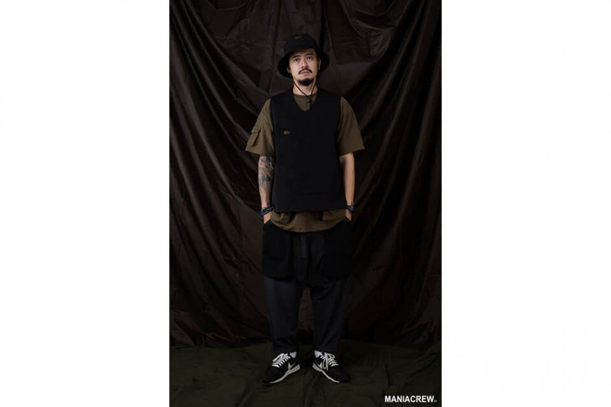 MANIA 20 AW Patchwork Pocket Pants (1)