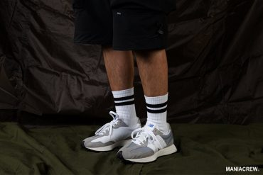MANIA 20 AW Stripe Socks (2)
