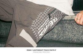 REMIX 20 AW Lightweight Track Pants II (1)