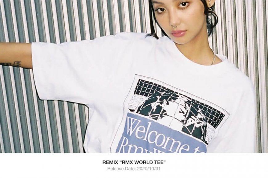 REMIX 20 AW RMX World Tee (1)
