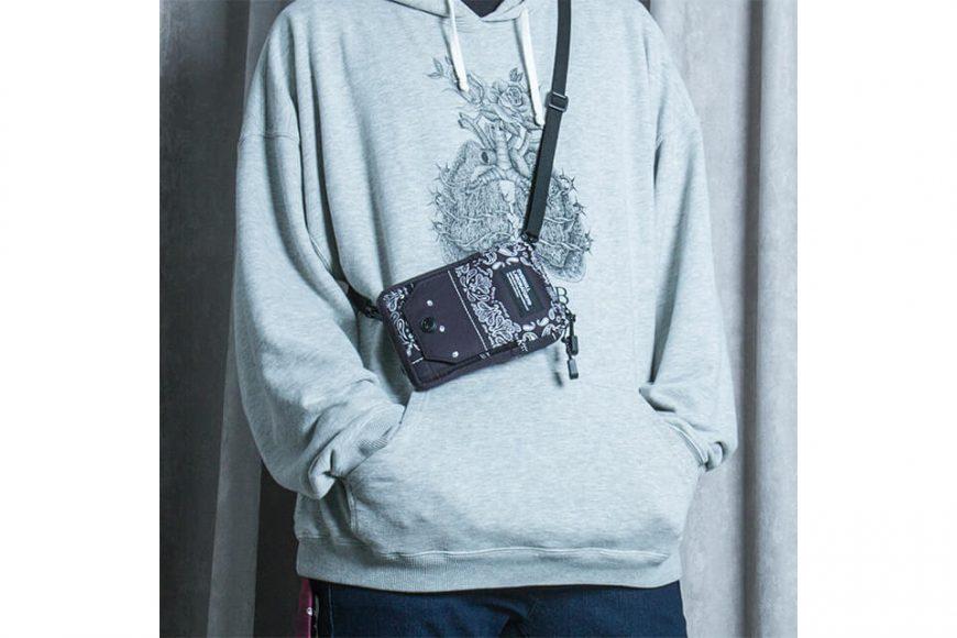 2 Way Paisley Pattern Quick Pocket Bag (1)