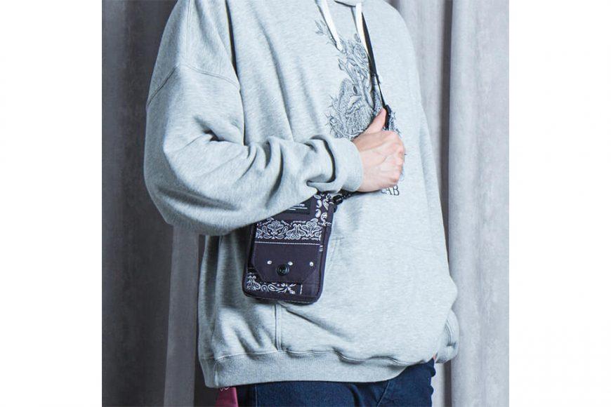 2 Way Paisley Pattern Quick Pocket Bag (2)