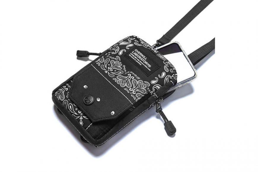 2 Way Paisley Pattern Quick Pocket Bag (4)