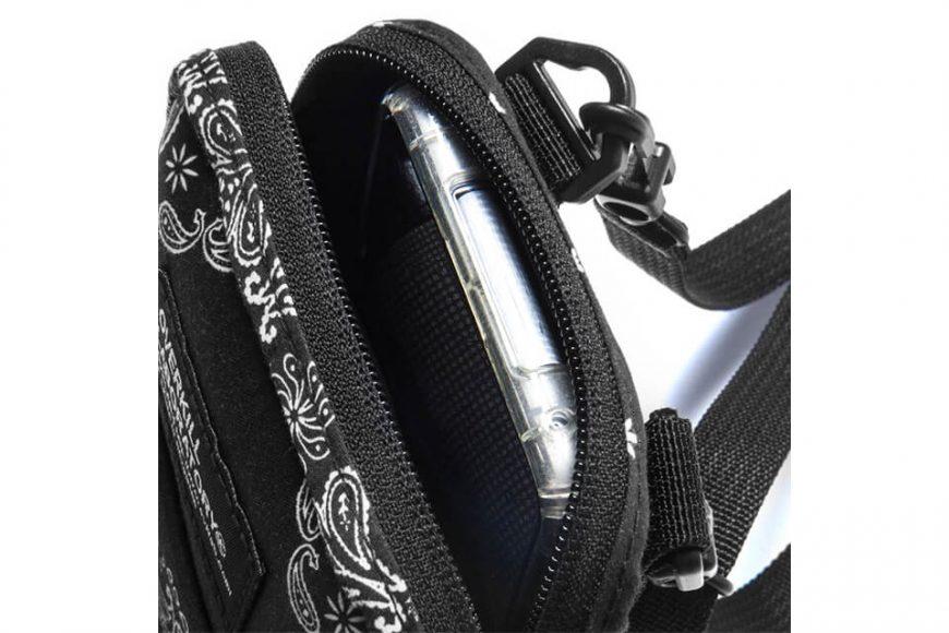 2 Way Paisley Pattern Quick Pocket Bag (7)