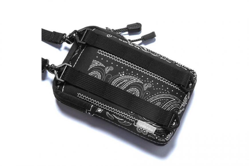 2 Way Paisley Pattern Quick Pocket Bag (8)