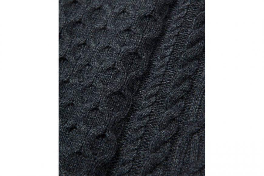 COVERNAT 20 FW Aran Knit Crewneck (4)