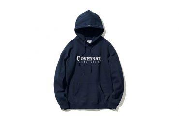 COVERNAT 20 FW Authentic Logo Hoodie (1)