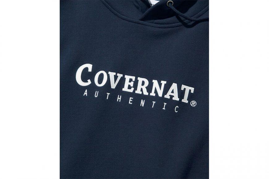 COVERNAT 20 FW Authentic Logo Hoodie (6)