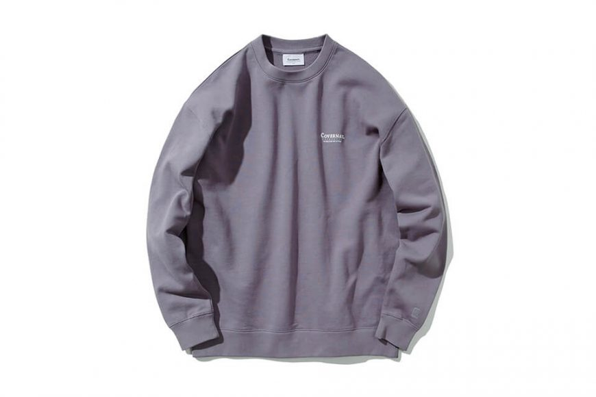 COVERNAT 20 FW Layout Logo Crewneck (1)