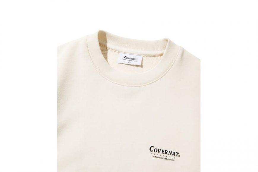 COVERNAT 20 FW Layout Logo Crewneck (10)