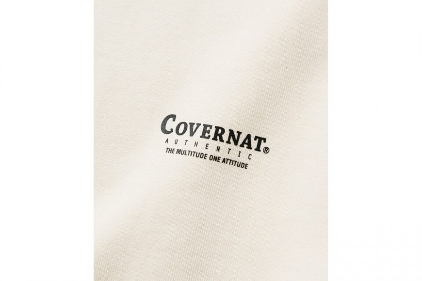 COVERNAT 20 FW Layout Logo Crewneck (11)