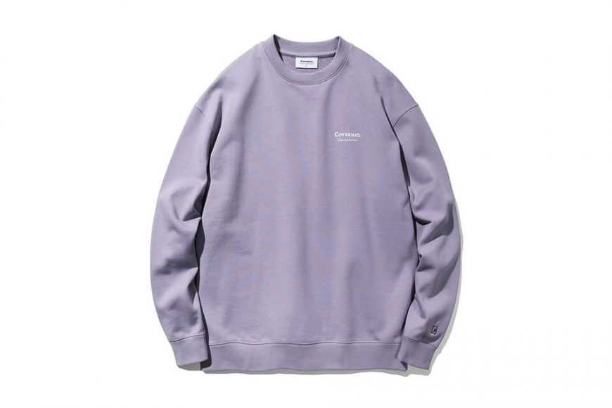 COVERNAT 20 FW Layout Logo Crewneck (15)
